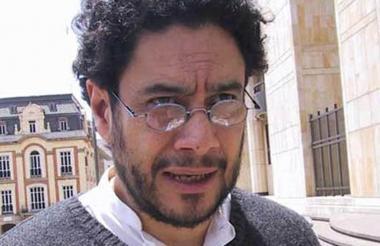 El senador opositor Iván Cepeda.