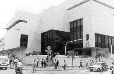 a del Banco de la República de Valledupar en 1994, año en que se cometió el 'robo del siglo'.