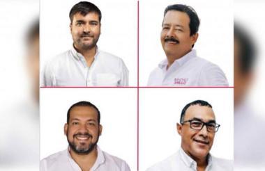 Candidatos a la Alcaldía de Barranquilla.