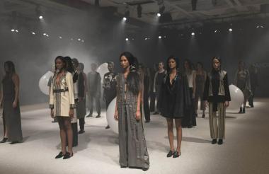 Presentación de la colección S.K.I.M.O.S, de la diseñadora Andrea Landa.