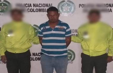 Niver Hernández, capturado.