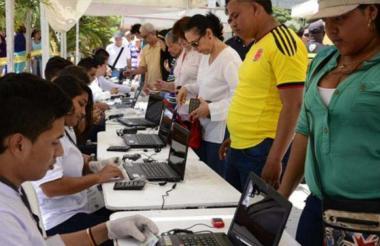 En el Atlántico hay 1.934.188 personas aptas para votar, según la Registraduría.