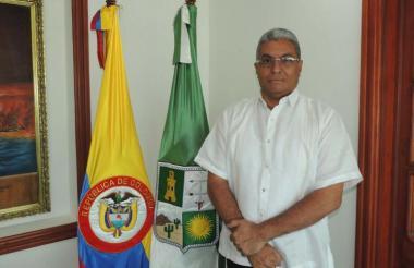 Gobernador de La Guajira, John Fuentes Medina