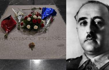 Los restos del dictador descansan actualmente en el mausoleo del Valle de los Caídos.