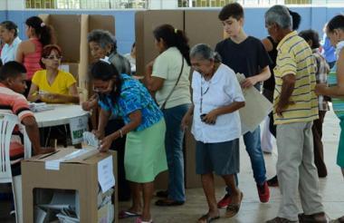 Los ciudadanos podrán votar con tranquilidad, según las autoridades.
