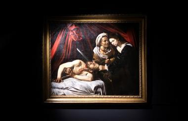 El cuadro de Caravaggio, 'Judit decapitando a Holofernes'