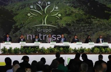 Asamblea de accionistas del Grupo Nutresa, una de las compañías multilatinas colombianas.