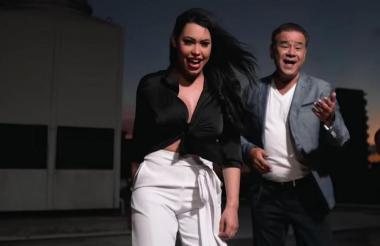 Imagen del  tema que grabaron juntos en noviembre.