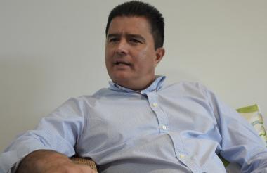 Rodolfo Ucrós, alcalde electo de Soledad.