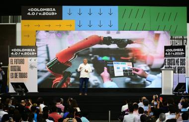 presidente Iván Duque en Colombia 4.0