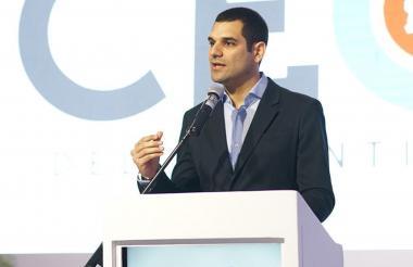 El director de CEO, Efraín Cepeda Tarud.