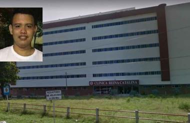 Al herido, Luis Guzán, lo atienten en la Clínica Reina Catalina del municipio de Baranoa. Por su parte, Edwin De la Ossa Altamiranda (recuadro) llegó sin signos vitales al hospital municipal.