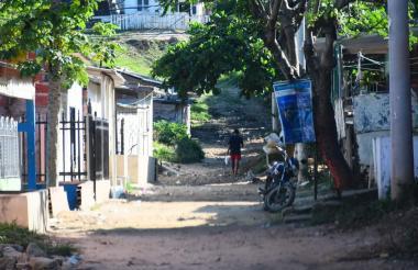 Calle 82C con carrera 25 del barrio Me Quejo, donde ocurrió el homicidio.