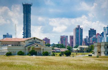 Sede del batallón Paraíso localizado en la carrera 68 con calle 79 en la ciudad de Barranquilla.