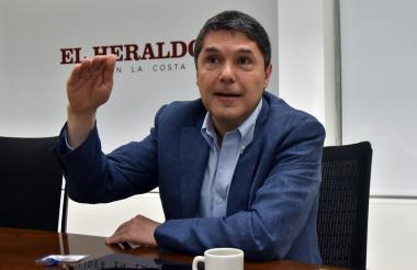 Jaime Alberto Upegui, presidente del Banco Scotiabank Colpatria.