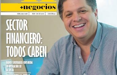 Portada de la edición de la revista + negocios de EL HERALDO edición 62.