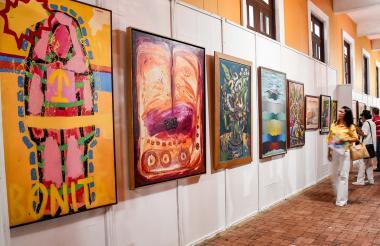 Algunas obras ya están reservadas y esperan interesar a los compradores y coleccionistas con precios proporcionales a la trayectoria de los artistas.