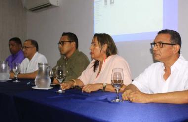 Los candidatos a la rectoría de la UPC.