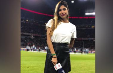 La periodista barranquillera Julieth González Therán también sufrió un accidente en la Isla Cholón en julio pasado.