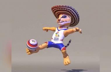 Juepajé, mascota oficial de los Juegos Bolivarianos 2021.