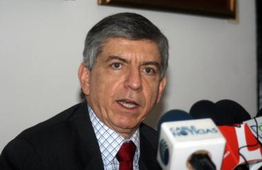César Gaviria, jefe del Partido Liberal.