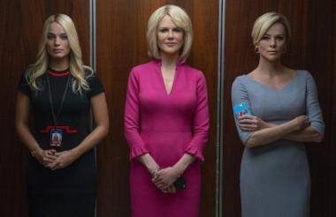 El drama de la era del MeToo protagonizado por Charlize Theron, Nicole Kidman y Margot Robbie lidera las nominaciones a los galardones.