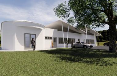 Fueron construidas o adecuadas 7 casas de la cultura, entre ellas esta del municipio de Ponedera.