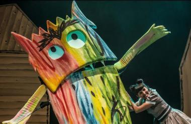 Pieza teatral 'El Monstruo de Colores'.