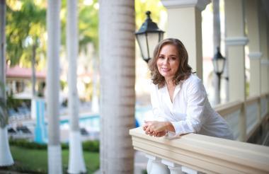 La directora de ProBarranquilla, Ana María Badel.