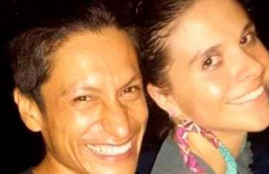 Nathalia Jiménez y Rodrigo Monsalve, la pareja asesinada.