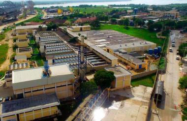 El servicio de agua en Soledad se presta a través del acueducto de Barranquilla.