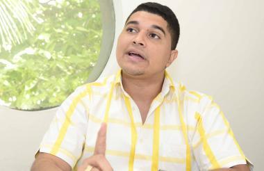 Jesús Montero, aspirante a ocupar el cargo de personero municipal de Candelaria.