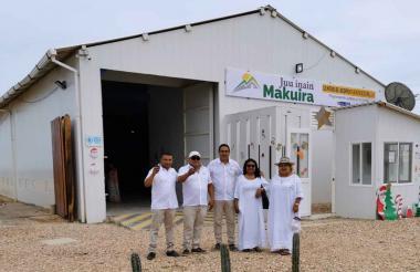 Centro de Copio del corregimiento de Puerto Estrella en la Alta Guajira.