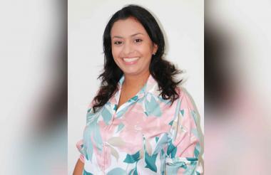 Ladys Noble Tordecilla,  nueva Secretaria de Gobierno de Montería.