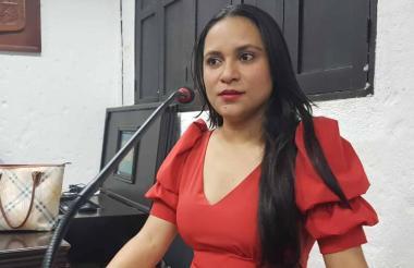 Mary Flor Teherán Puello.