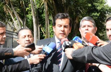 Rodrigo Lara, senador.