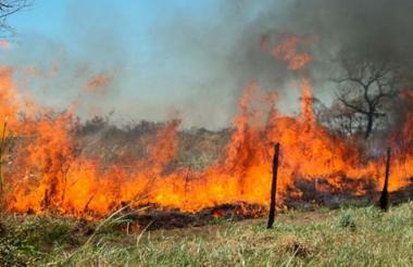 Incendio en Valledupar.