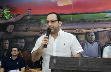 Jorge Mario Galofre Rugeles, personero de Montería.