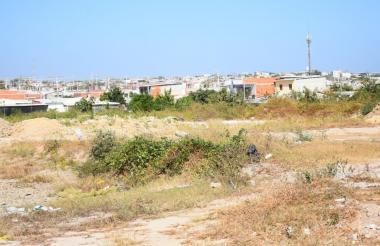 Trocha del barrio El manantial donde fue asesinada una persona y tres más resultaron heridas.