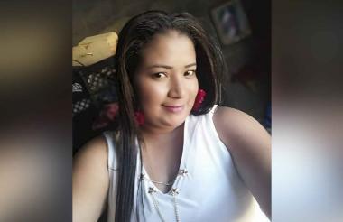 Nadisser Cristy Palencia Narváez, víctima.