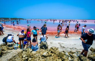En el 2019 cuando se reactivó el turismo, Galerazamba recibió a más de 43.500 visitantes.