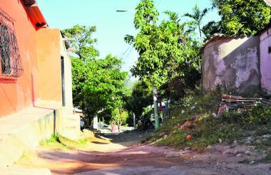 Calle 62 con carrera 5 Sur, lugar donde se registró el homicidio.