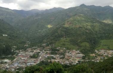 Vereda Vichiquí, en Toribío, Cauca, lugar donde ocurrió el asesinato.