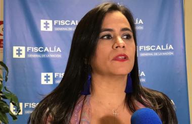 Claudia López Duncan, directora seccional de Fiscalías.