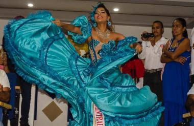María Alejandra Viloria, reina del Carnaval de Valledupar.