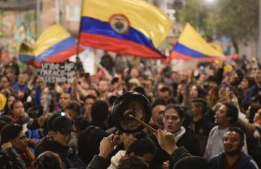 Las protestas en diferentes puntos del país, fueron uno de los items tenidos en cuenta para medir la percepción de corrupción.