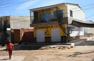 Duvan Camargo Guevara fue asesinado dentro de este estadero.