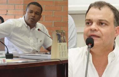 Yahir Acuña y Andrés Gómez.