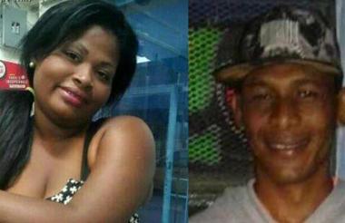 Karen Yulisa Centeno Beltrán y Miguel Caraballo Barraza, asesinados en Soledad.