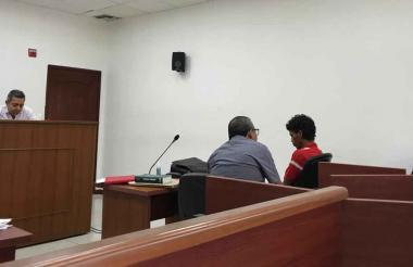 Audiencia de legalización de captura, imputación y medida de aseguramiento contra Carlos Julio Borrero Carranza, presunto homicida de la adolescente de 16 años en el barrio Las Malvinas.